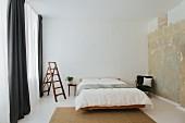 Minimalist Scandinavian designer bedroom