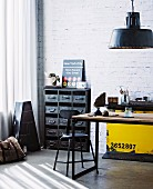 Raw industry office space