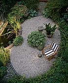 Backyard towel garden