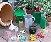 Product Overview Fertilizer for container plants, Floranid Permanent