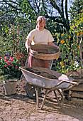 Seven ripe compost