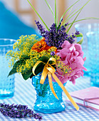 Lavandula (lavender), anethum (dill)