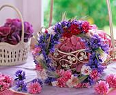 Cornflower wreath