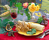 Zea (corn), Vitis (wine)