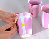 Striped deco with tape