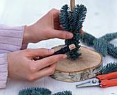 Handbound tree made from Nobilistanne