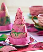 Ornamental cabbage cone