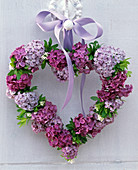 Heart of lilac and woodruff