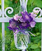 Bouquet of Scabiosa and Malva moschata