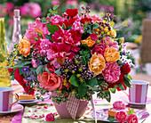 Bouquet of Rose, Origanum, Foeniculum, Borago