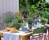 Lavender table decoration