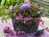 Arrangement of Cynara scolymus (Artichoke Blossom)