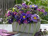 Late summer arrangement from thecottage garden