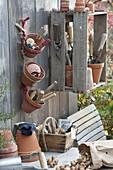 Clay pots versatile