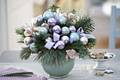 Christmas Bouquet with Cupressus, Abies Pinus