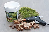 Make pots yourself with wooden stars