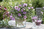 Medicinal Herb Bouquet, Malva, Sage