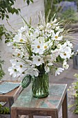 White late summer bouquet from Cosmos (Daisies), Gaura