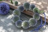 Echinops (Globular Thistle) wreath