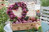 Heart of blackberries, elderberry