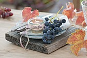 Grapes table decoration