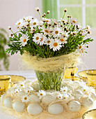 Bouquet from Argyranthemum frutescens (daisies))