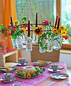 Hanging table decoration