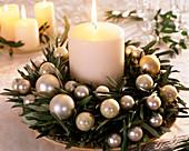 Olea europaea (olive wreath)
