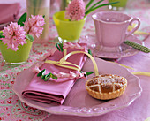 Hyacinth napkin ring