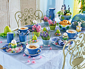 Easter breakfast, Hyacinthus (Pink Hyacinth)