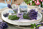 Self made gifts, bouquet of lavandula (lavender)