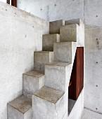Concrete samba stairs