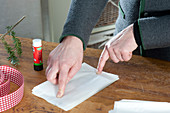Make paper starters out of sandwich bags
