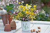 Meadow Bouquet, Ranunculus acris, Silene dioica