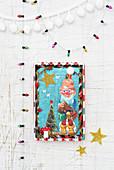 Hand-crafted, miniature, Christmas dioramas