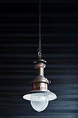 Vintage metal pendant lamp
