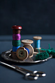 Reels of thread