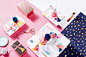 Packaging ideas with pompoms