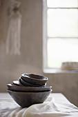Black bowls