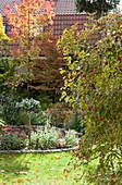 Autumnal garden