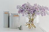 Pastel-Colored Lilac Bouquet