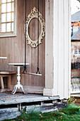 Swing in open doorway