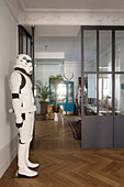 Life-size Star Wars stormtrooper figure