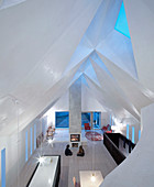 Chapel converted into home with faceted ceiling