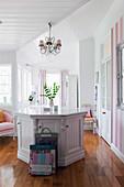 Elegant, bright living space in a renovated Queenslander