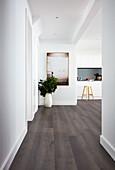 Open-plan minimalist interior