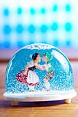 Bavarian snow globe