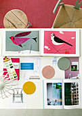Moodboard of furnishing ideas