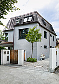 Façade of new house