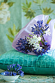 Agapanthus wrapped in paper